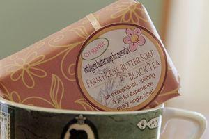 Farm house butter soap black tea